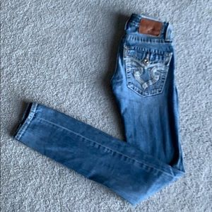 Big Star Sweet Skinny Ultra Low Fit Jeans